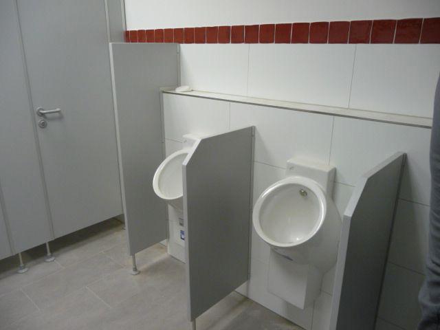 Schamwand Wc te mo duschen wc abtrennung